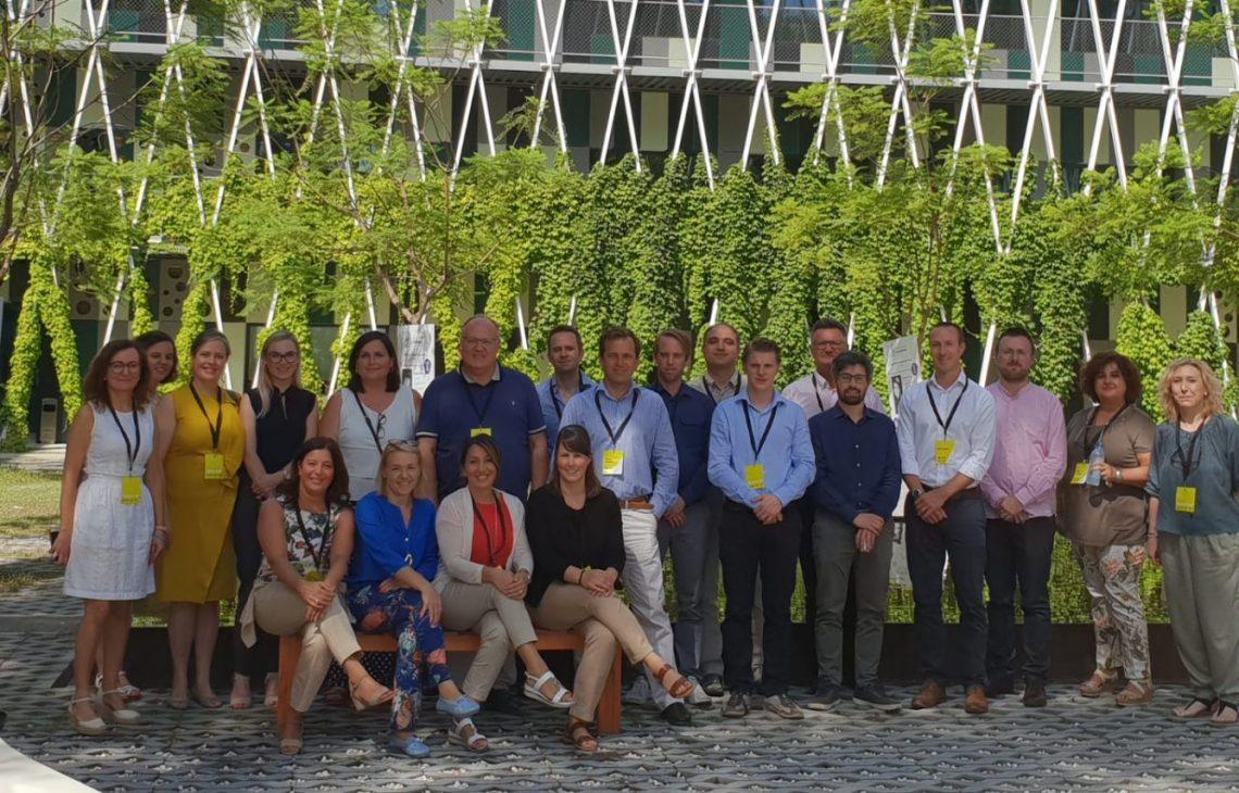 Teilnehmende des SCALE UP Kick-off-Meeting in Murcia