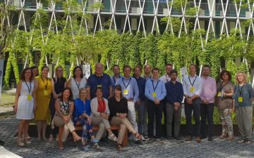 Teilnehmende des SCALE UP Kick-off-Meeting in Murcia