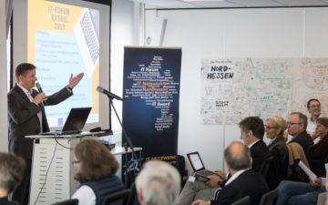 Eröffnung des IT-Forums 2019 durch Reiner Brandt