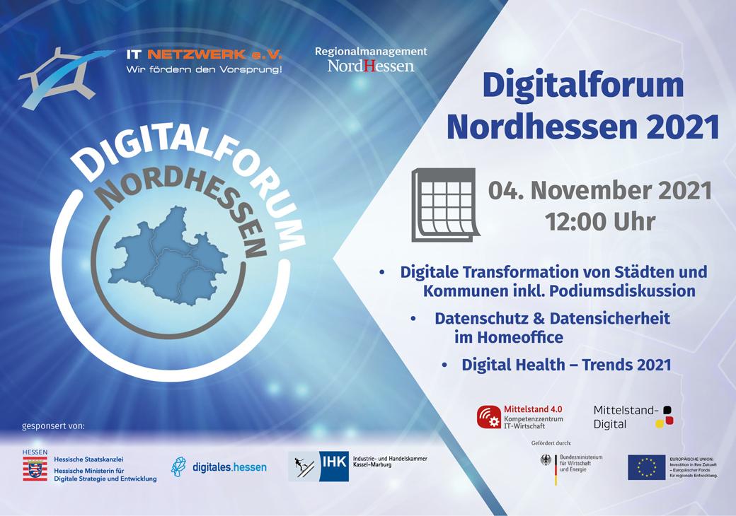Digitalforum Nordhessen 2021