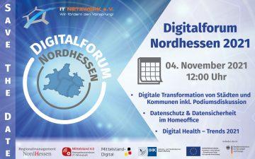 Save-the-Date: Digitalforum Nordhessen 2021
