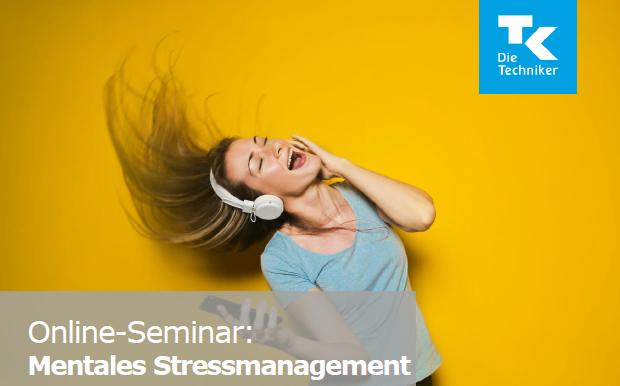 "Online Seminar ""Mentales Stressmanagement"""
