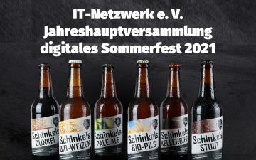 IT-Netzwerk e. V. Sommerfest 2021 (Online-Biertasting) und Jahreshauptversammlung (nur für Mitglieder)