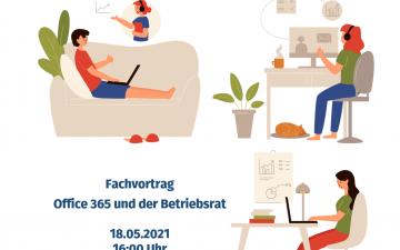 """Fachvortrag  """"Office 365 und der Betriebsrat"""""""